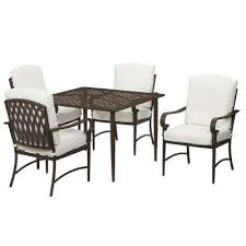 Metal Outdoor Dining Chairs Oak Cliff Patio Dining Sets Patio Dining Furniture The Home