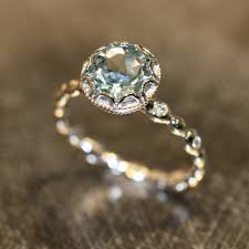 untraditional engagement rings non diamond and non traditional engagement rings style