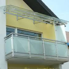 balkon vordach kundenindividuell glasprofi24