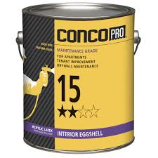 best non yellowing white eggshell paint conco pro 15 interior acrylic eggshell wall paint at