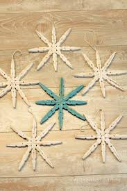 clothespin snowflakes u0026 thoughts on broken things all things