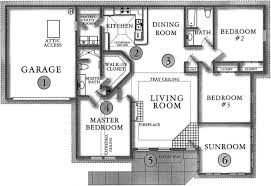 3 bedroom floor plans with garage floor plans active properties