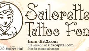 sailorette font befonts com