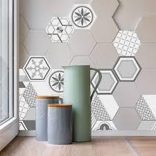 home design 3d remove wall 10pcs lot geometric hexagonal 3d tile sticker waterproof backsplash