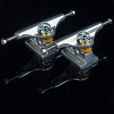 monster jam puff trucks stage 11 trucks silver in stock at the boardr