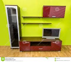 Modern Wall Unit Modern Wall Unit Stock Photo Image Of Decorative Decoration