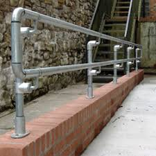 Tubular Handrail Standards Safety Handrail Systems Pedestrian Barriers Ct Safety Barriers