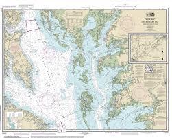 Virginia Coast Map by Chesapeake Bay Modern Nautical Charts 80 000 Scale
