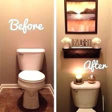 ideas for decorating bathrooms guest bathroom decor flaxandwool co