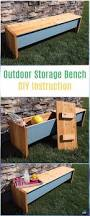 Outdoor Storage Bench Diy by 311 Best Furniture Images On Pinterest Build Your Own Chair And