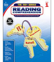 reading comprehension workbook grade 1 carson dellosa publishing