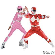 Power Rangers Halloween Costumes Adults Power Ranger Couples Costumes