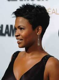 razor cut hairstyle with spiky on top 50 great short hairstyles for black women hairstyle insider