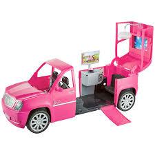 barbie pink limo u0026 4 fashionista dolls gift 3