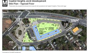 gt cus map capitol heights metrorail station joint development project