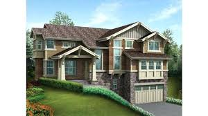 sloping lot house plans plans sloping lot house plans craftsman stately for sloped prev