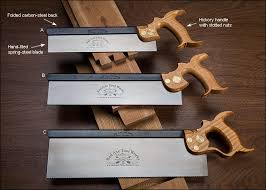 Woodworking Hand Tools Toronto by Backsaws By Bad Axe Tool Works Lee Valley Tools