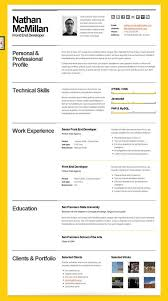 Iwork Resume Templates Resume Layout Template Clean Realistic Resume Cv Template Psd