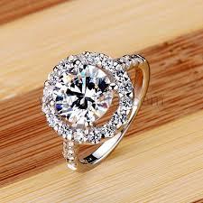 custom wedding bands custom engraved 3 carat diamond wedding ring for women
