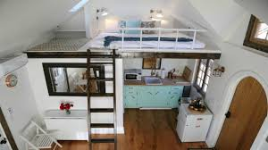 tiny home energy efficient split loft bedrooms small house
