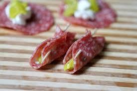 easy appetizers easy salami appetizer recipegirl