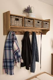 interior entrance bench and coat rack wall mounted coat hanger