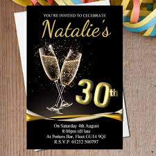 75th Birthday Invitation Cards Black And Gold Birthday Invitations Dhavalthakur Com
