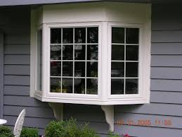 exterior attractive bay windows lowes for awesome home ideas