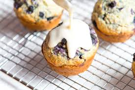 ginger blueberry oatmeal muffins recipe
