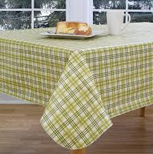 vinyl tablecloth amazing deal on harvest plaid autumn peva vinyl