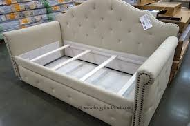 costco pulaski furniture madison upholstered daybed frugal hotspot