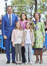 royal family attends easter mass in mallorca instyle