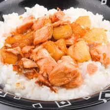 comment cuisiner le blanc de poulet recette blancs de poulet à l ananas et au lait de coco