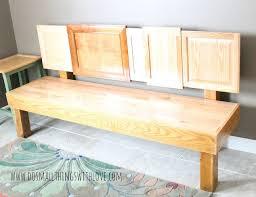 Repurpose Cabinet Doors Cabinet Door Bench Hometalk
