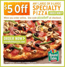 Round Table Pizza Coupon Codes Round Table Pizza 25 Off Online Order Brokeasshome Com
