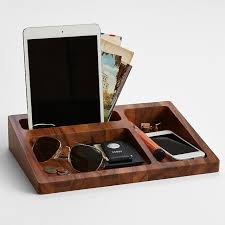 wood tray valet wood tray trays and essentials