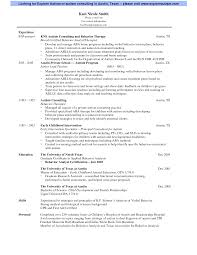 Ehs Resume Examples by 100 Occupational Therapy Resume Template How To Craft A