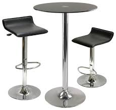 Indoor Bistro Table And 2 Chairs with Catchy Glass Bistro Table And 2 Chairs Find Marquee 3 Piece Black