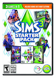 the sims 3 starter pack base pc computer and video games amazon ca