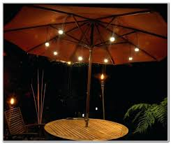amazing patio umbrella lights for led patio umbrella lights 38