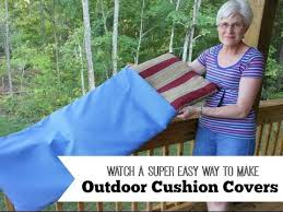 patio chair slipcovers easy way to outdoor cushion covers