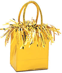 gold gift bags gold gift bag balloon weight party decorations wholesale balloon