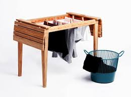 dryunder balcony furniture doubles up as drying rack to hang your