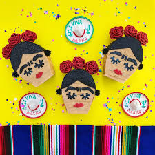 frida kahlo mini pinata frida kahlo party mini pinata