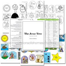 jesse tree advent study free advent printable free