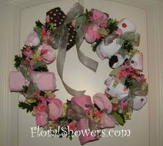 baby shower wreath baby shower wreath ideas jagl info