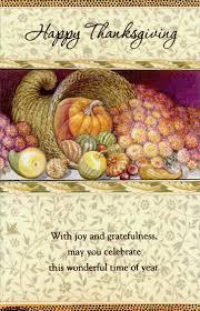 cornucopia thanksgiving card by freedom greetings