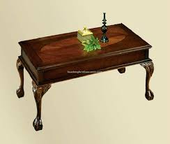 coffee tables dazzling antique french style inlaid marquetry