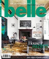 house design magazines australia 21 best belle magazine covers images on pinterest belle magazine