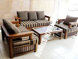 Wooden Sofa Sets For Living Room Wooden Sofa Set Robinsuites Co